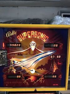 Best Pinball Deal on kijiji Bally Super Sonic