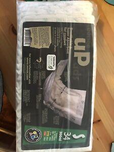 eenee up ads nappies and eenee uPants size small.
