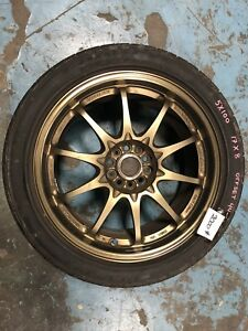 Volk Racing mags (CE28)  5X100  17X8  offset 44 (225/45/17)