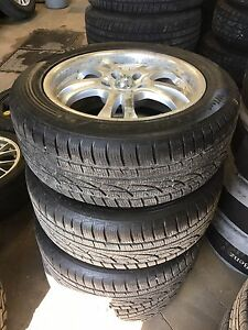 Infiniti/nissan winter rims and tires