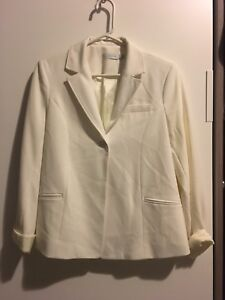 White maternity suit $25