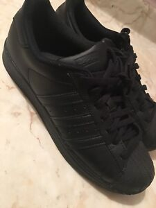 Adidas Shell Toes - Woman's 9.5