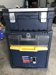 Mastercraft 3 in 1 Rolling vertical Toolbox
