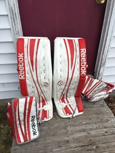 Reebok 32 + 1  18k pad and into pro model blocker and trapper