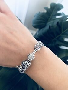 Sterling Silver Charms and Bracelets