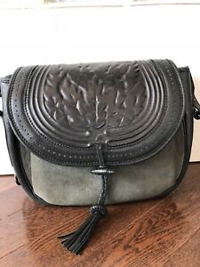 Zimmerman Leather/ Suede Cross Body