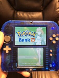 Selling Crystal Clear Blue 2DS