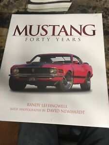Brand new Mustang book wrapped in plastic