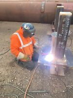 Affordable welding services journeyman looking for work.