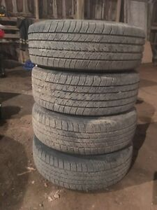 215/65R15 All Season tires and rims $125