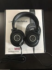 Selling Audio Technical ATH M40X Headphones!