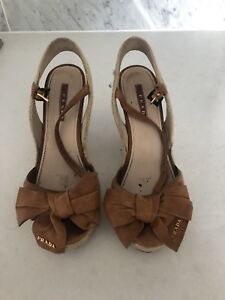 Prada Size 7.5 Wedges
