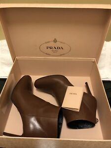 Authentic Prada Calzature Donna Ankle Boots