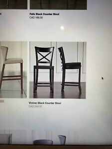 4 Crate and Barrel dining chairs!