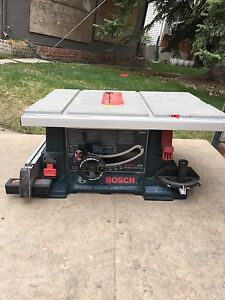 Bosch 4000 tablesaw w/gravity Rise stand