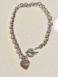 Tiffany & Co Authentic  Solid Silver  necklace   West End Brisbane South West Preview