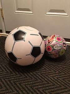Girls Princess Soccer Ball