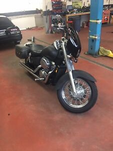 1998 Honda shadow vtx 750