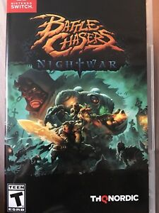 Battle Chasers Nightwar for Switch.