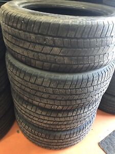 275/55R20 Michelin LTX MS2 Tires used