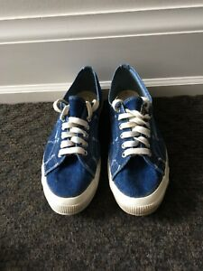 Superga Demin Shoes Size 11