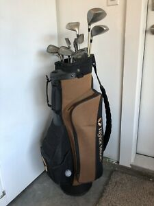 Taylor made Golf bag and Golf Clubs