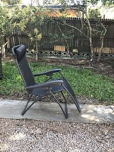 2 x fold up outdoor Reclining sun lounge chair Everton Park Brisbane North West Preview