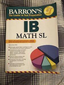 IB Math sl study guide
