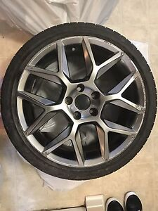 "18"" 5x112 bolt pattern fits most VW"