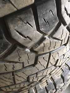Hankook LT tires 35""