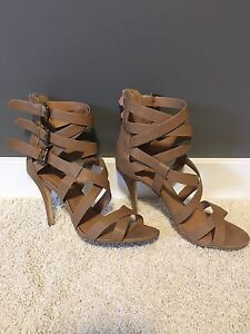 Size 10 strappy sandals