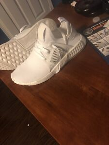 Adidas nmd xr1 triple white size 11 new