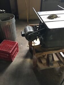 Equipment Table saw band saw and other