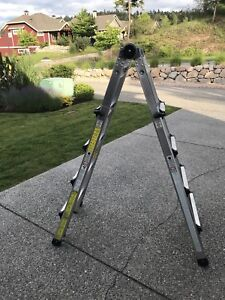 19ft 300lb SWL Grade 1 extension heavy duty ladder