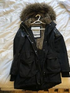 Womens small winter coat garage