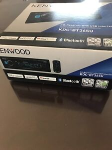 Lecteur CD  auto kenwood Bluetooth
