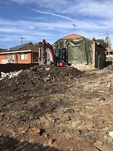Rubbish removal and earthmoving servixe Carlton Kogarah Area Preview