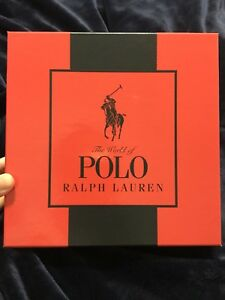 Polo Ralph Lauren cologne and body wash set - NEW