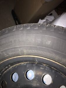 195/65/15 winter tires Michelin X-ice with rims