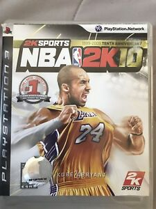 NBA 2K10 for PS3