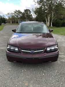 2003 Chevy Impala FOR PARTS OR REPAIR