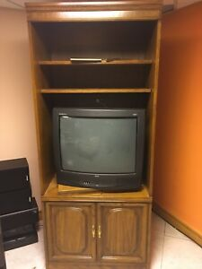 TV entertainment/shelving unit