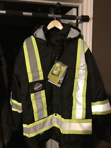 Men's Winter Reflective Jacket by Forcefield