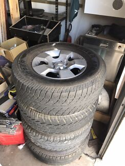Navara wheels and tyres  Findon Charles Sturt Area Preview