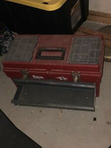 2 drawer toolbox