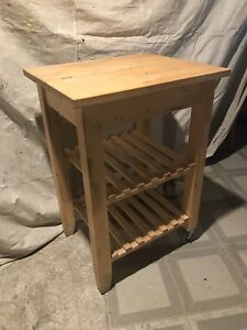 "Kitchen cart, birch, 22 7/8x19 5/8 "" (58x50 cm)"