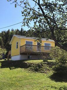 Jolie petite maison à louer en Gaspésie