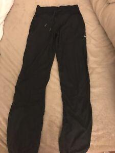 Lululemon Dance Studio Pant III Unlined Black Size 2