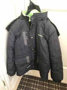 Winter jacket size 7 kids with snow pants free