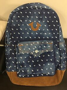 True religion backpack authentic